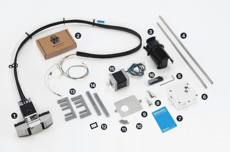 Extrusion Upgrade onderdelen
