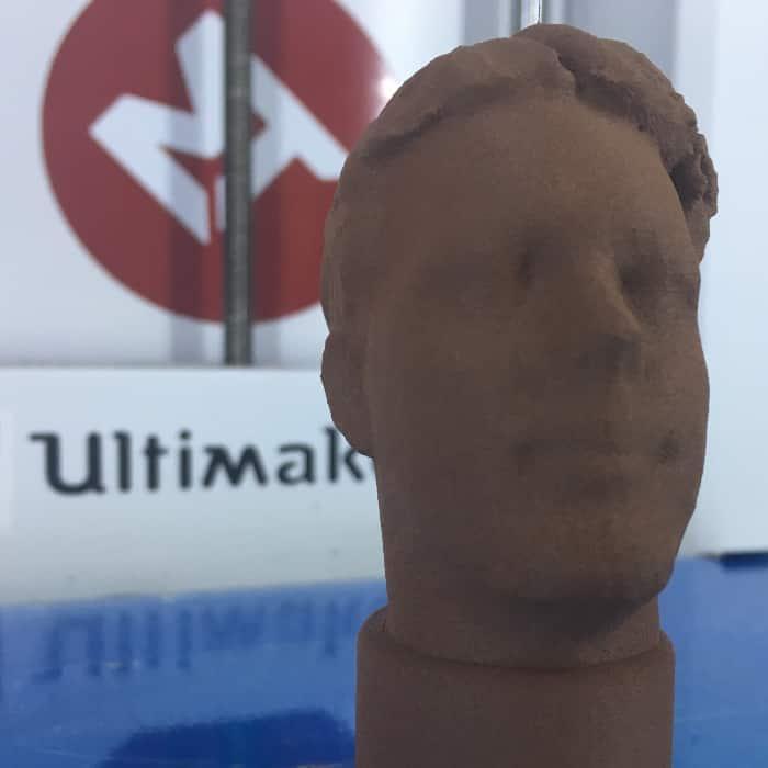 MTB3D Brons filament 3d print voorbeeld