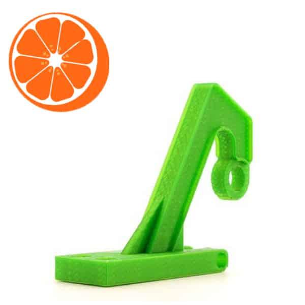 PETG 3d print voorbeeld Hot Orange 3D