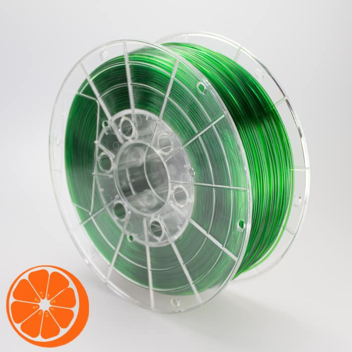 transparant groen HotOrange 3D filament kopen