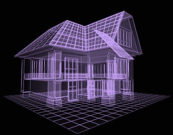 architecten voorbeeld mesh 3D